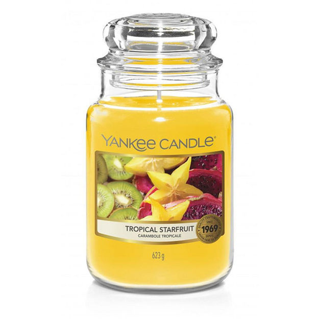 Picture of YANKEE CANDLE - LARGE TROPICAL STARFRUIT