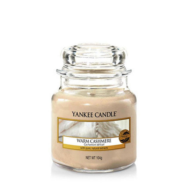 Picture of YANKEE CANDLE - SMALL WARM CASHMERE