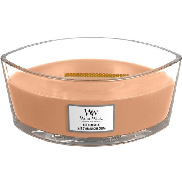 Picture of WOODWICK CANDLE - ELLIPSE GOLDEN MILK