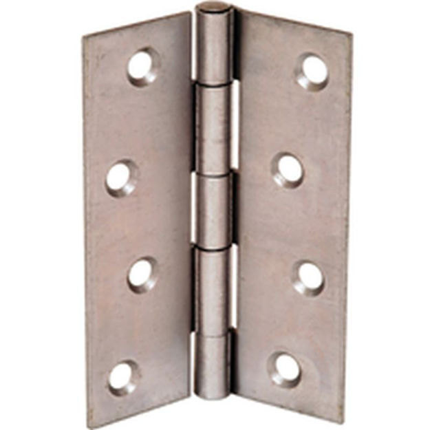 """Picture of 2.5"""" STEEL BUTT HINGE  CR/CO"""