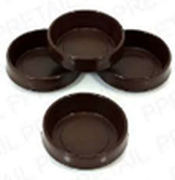 Picture of CASTOR CUPS - LGE BRN (x2)