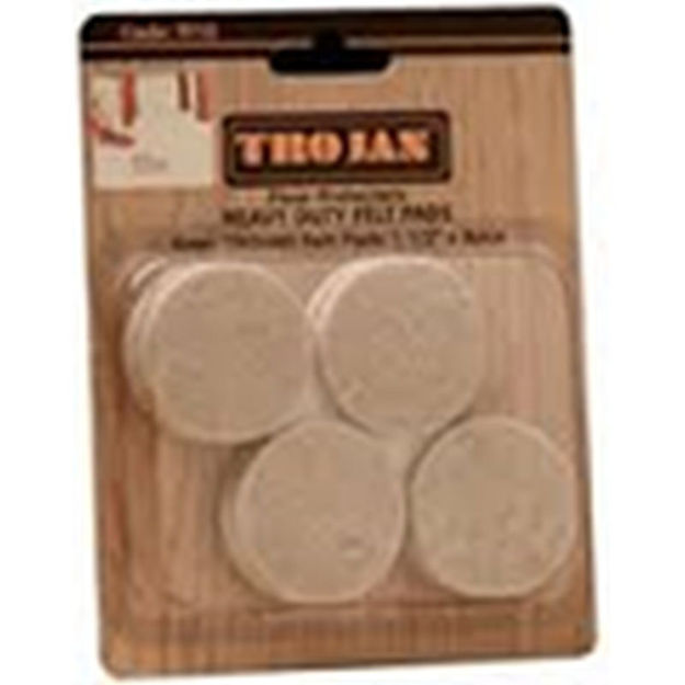 """Picture of FELT PADS 1 1/2"""" 8 PCE"""