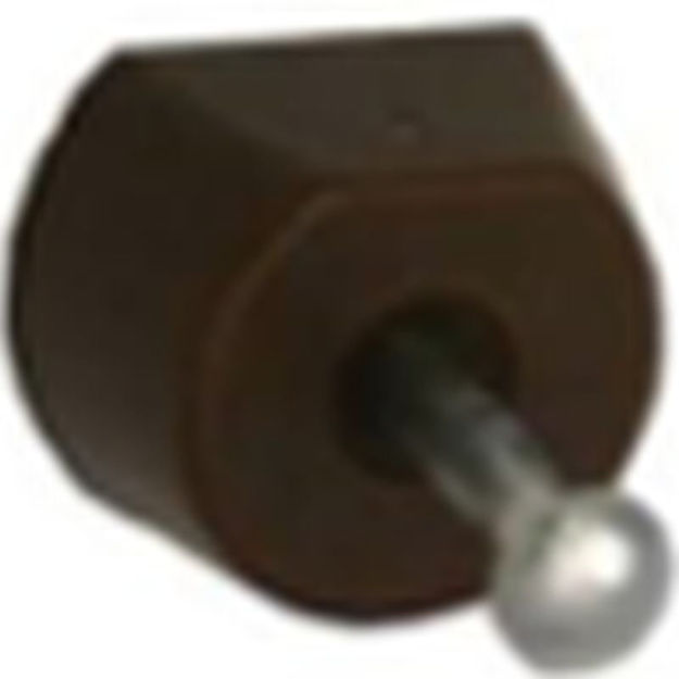 Picture of SHELF SUPPORT BRN NAIL IN (x12)