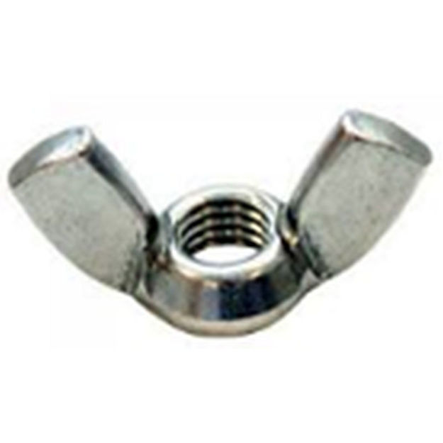 Picture of WING NUT - STEEL M8 (x6)