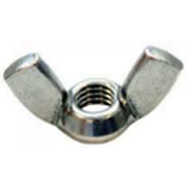 Picture of WING NUT - STEEL M6 (x6)