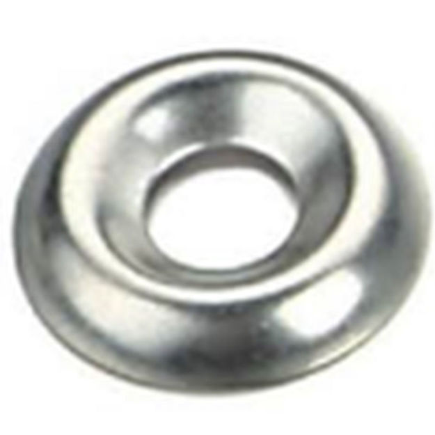 Picture of WASHER - SCREW CUP NICKEL 10g (x12)
