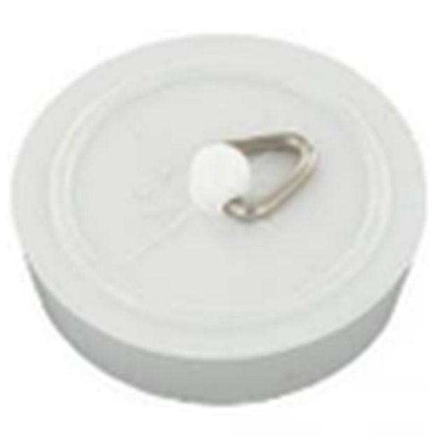 """Picture of SINK PLUG PVC WH 1 1/2"""" (x2)"""
