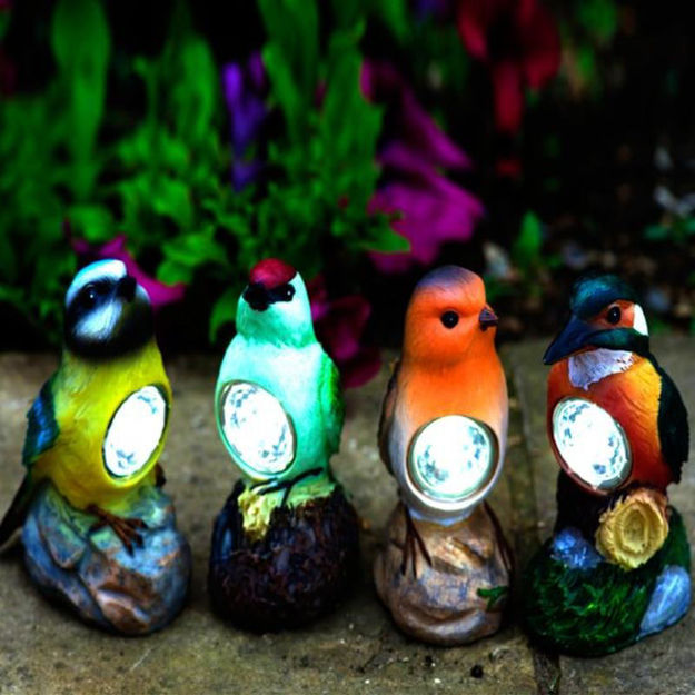 Picture of BIRD LED FIGURINES ASS