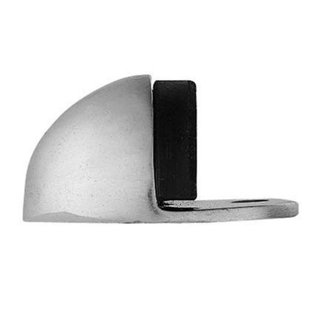 Picture of DOORSTOP - FLR MOUNTED OVAL 32mm (SC)