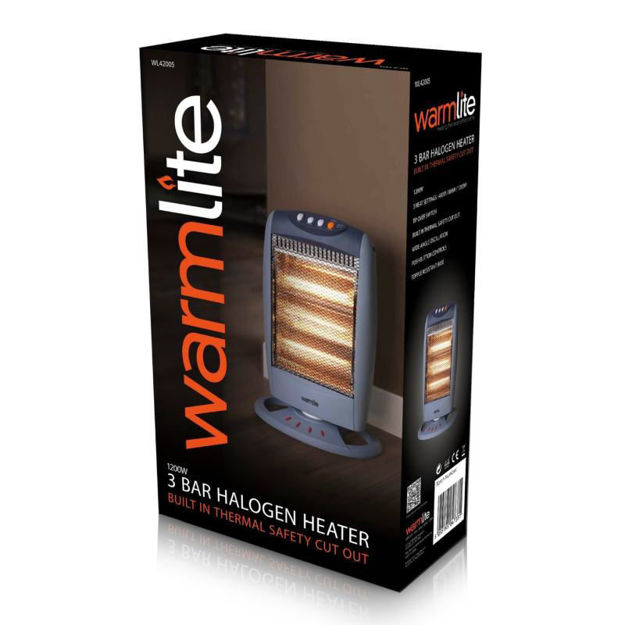 Picture of HALOGEN HEATER - PIFCO/WARMLITE 1200w