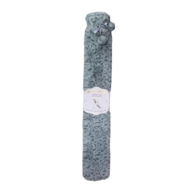 Picture of LONG PLUSH HOT WATER BOTTLE - SNOW