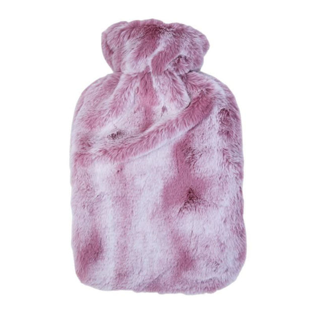 Picture of HOT WATER BOTTLE - 2 TONE PLUSH (PINK)