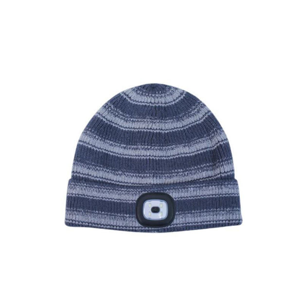 Picture of RECHARGABLE LED TORCH HAT - NAVY