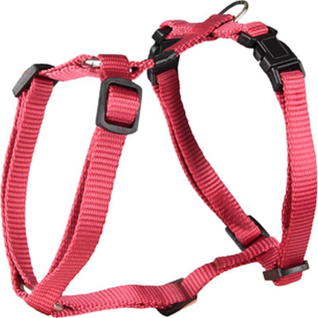 Picture of H-HARNESS ZIGGI RED 25-40CM 10MM