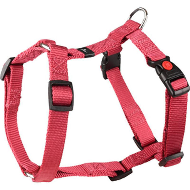 Picture of H-HARNESS ZIGGI RED 35-50CM 15MM