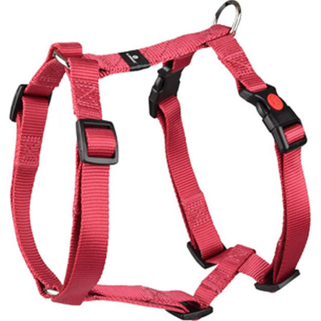 Picture of H-HARNESS ZIGGI RED 45-70CM 20MM