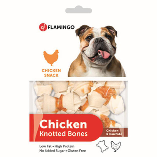 Picture of CHICKEN SNACK KNOTTED BONE 85GR