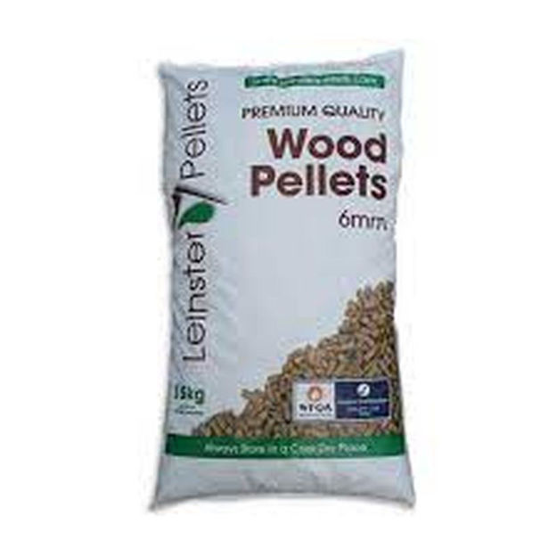 Picture of WOOD PELLETS - 15KG (LEINSTER)