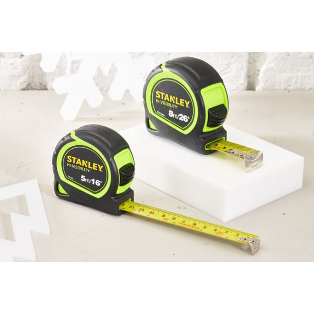 Picture of TAPE HI-VIS 8MTR STANLEY