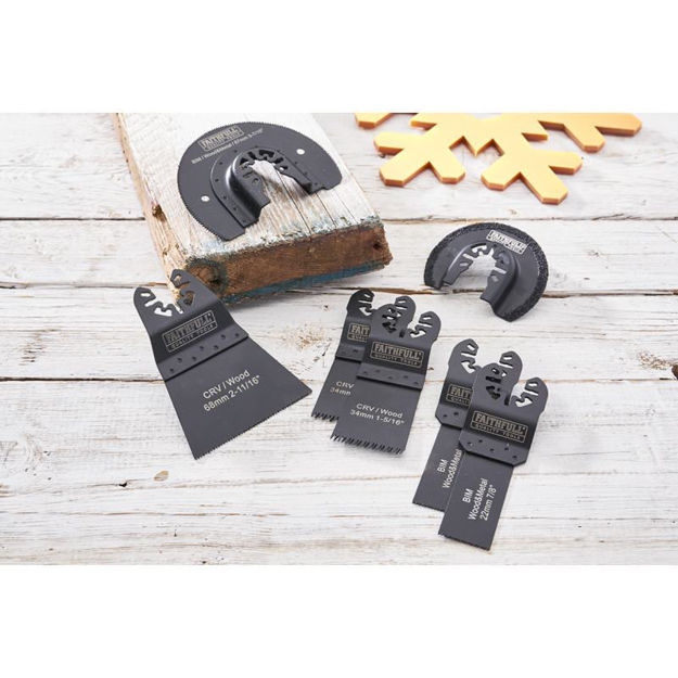 Picture of MULTI TOOL BLADE SET 7PC