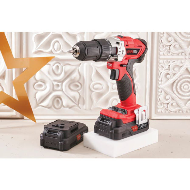 Picture of DRILL COMBI OLYMPIA 20V + 2 BATTERY