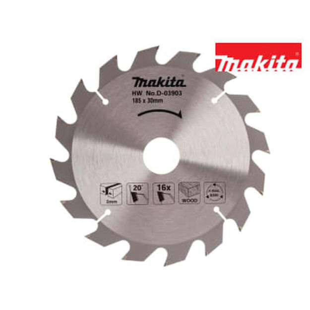 Picture of MAKITA 16T X 30MM BLADE