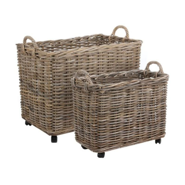 Picture of BASKET WICKER RECT  MARCIA (58Hx75Wx50D) LARGE