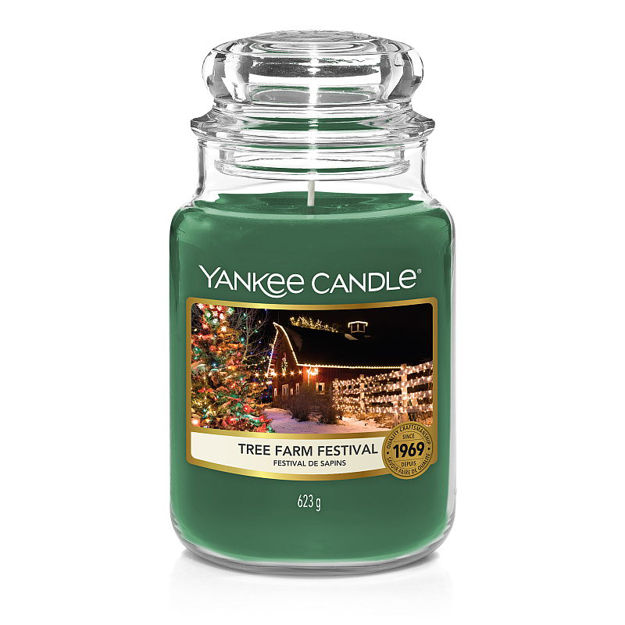 Picture of YANKEE CANDLE - LARGE TREE FARM FESTIVAL